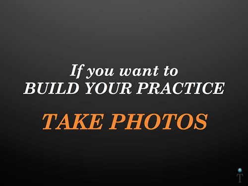 Building Your Practice Slide Example Before
